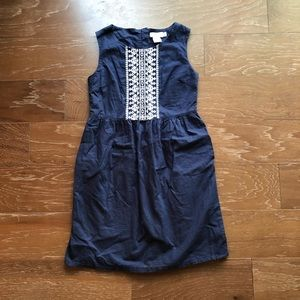Vineyard vines size 10 navy girls dress